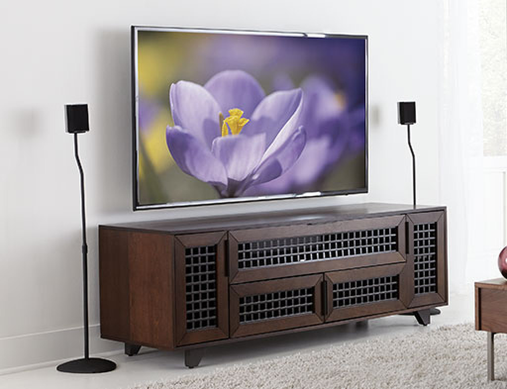 sanus accents htsat home theater series speaker stands speaker stands products sanus accents - Sanus Speaker Stands