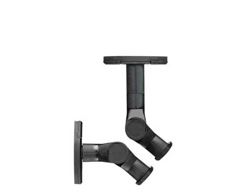 swmb black ceiling and wall mount options - Sanus Speaker Stands